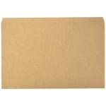 Elba Gio Pocket - Subcarpeta de cartulina, Folio, 320 gr/m2, color kraft bicolor, con bolsa y solapa