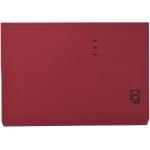Elba Gio Pocket - Subcarpeta de cartulina, Folio, 320 gr/m2, color burdeos, con bolsa y solapa