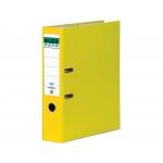 Elba Rado Chic 100022646 - Archivador de palanca, tamaño A4, lomo ancho, con rado, color amarillo