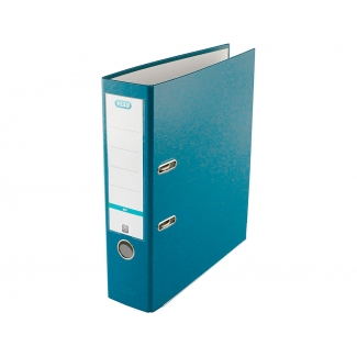 Elba Rado Top 100025943 - Archivador de palanca, tamaño A4, lomo ancho, con rado, color turquesa