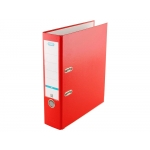 Elba Rado Top 100202156 - Archivador de palanca, tamaño A4, lomo ancho, con rado, color rojo