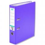 Elba Rado Top 400085080 - Archivador de palanca, tamaño folio, lomo ancho, con rado, color violeta