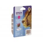 Epson T0713 - Cartucho de tinta original, C13T07134012, magenta