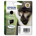 Epson T0891 - Cartucho de tinta original, C13T08914011, negro