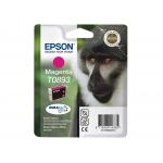 Epson T0893 - Cartucho de tinta original, C13T08934011, magenta
