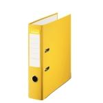 Esselte 42324 - Archivador de palanca, tamaño folio, lomo ancho, con rado, color amarillo