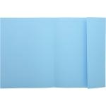 Exacompta 348006E - Subcarpeta de cartulina con solapa interior, A4, 160 gr/m2, color azul