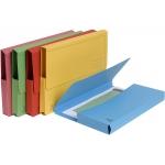 Exacompta 46970E - Subcarpeta de cartulina reciclada, A4, 290 gr/m2, colores surtidos, con bolsa y solapa