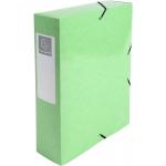 Exacompta 50723E - Carpeta de proyectos con gomas, tamaño A4, lomo de 80 mm, color verde anis