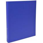 Exacompta 54372E - Carpeta de anillas, 2 anillas redondas de 30 mm, cartón forrado, tamaño A4, color azul oscuro