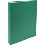 Exacompta 54373E - Carpeta de anillas, 2 anillas redondas de 30 mm, cartón forrado, tamaño A4, color verde oscuro