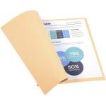 Exacompta Forever 410002E- Subcarpeta de cartulina reciclada, A4, 250 gr/m2, color crema