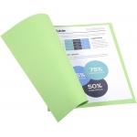 Exacompta Forever 410004E- Subcarpeta de cartulina reciclada, A4, 250 gr/m2, color verde