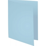 Exacompta Forever 420006E - Subcarpeta de cartulina reciclada, A4, 170 gr/m2, color celeste