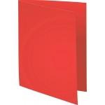 Exacompta Forever 420012E - Subcarpeta de cartulina reciclada, A4, 170 gr/m2, color rojo