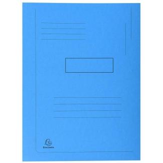 Opina sobre Exacompta Forever 445006E - Subcarpeta de cartulina reciclada, dos solapas, A4, 280 gr/m2, color azul