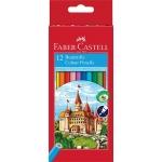 Faber-Castell 120112 - Lápices de colores, caja de 12 colores