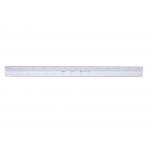 Faber-Castell 153-A - Escala triangular de plástico, con funda, 30 cm, 1:20, 25, 50, 75, 100 y 125