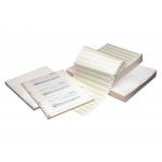 """Fabrisa 16195 - Papel continuo, 380 mm x 11"""", pautado, original, caja de 2500 hojas"""