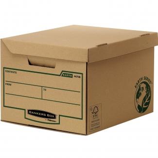 Fellowes 4472205 - Cajón para archivo definitivo, cartón reciclado, tamaño folio, color kraft