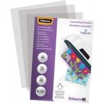 Fellowes 5396205 - Bolsa de plastificar, A4, 80 micras, caja de 25