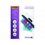 Fellowes 5452103 - Fundas para plastificar, A4, 80 micras, caja de 100