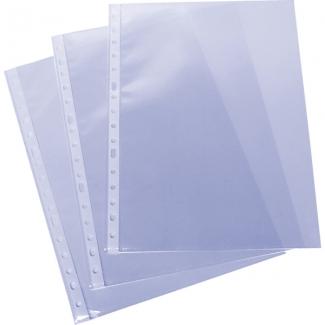 Grafoplás 05575000 - Funda multitaladro, Folio, 55 micras, piel de naranja, caja de 100 fundas