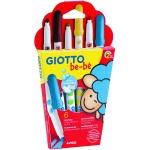 Giotto Super Bebe 469800 - Rotuladores de colores, caja de 6 colores