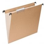 Grafoplás 00010649 - Carpeta colgante, tamaño A4, visor superior, kraft