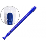 Hohner 9508 - Flauta de plástico, color azul