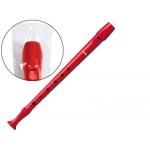 Hohner 9508 - Flauta de plástico, color rojo