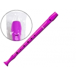 Hohner - Flauta de plástico, color rosa