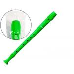 Hohner - Flauta de plástico, color verde
