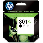 HP 301 XL - Cartucho de tinta original CH563EE, negro