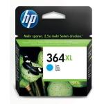 HP 364 XL - Cartucho de tinta original CB323EE, cían