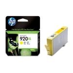HP 920 XL - Cartucho de tinta original CD974AE, amarillo