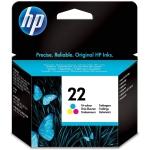 HP C9352AE - Cartucho de tinta original 22, tricolor
