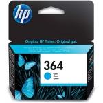 HP CB318EE - Cartucho de tinta original 364, cían