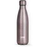 I-Drink ID0019 - Botella térmica, 500 ml, color gris metalizado