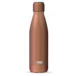 I-Drink ID0020 - Botella térmica, 500 ml, color rosa metalizado
