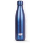 I-Drink ID0021 - Botella térmica, 500 ml, color azul metalizado