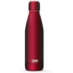 I-Drink ID0022 - Botella térmica, 500 ml, color rojo metalizado