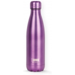 I-Drink ID0023 - Botella térmica, 500 ml, color morado metalizado