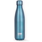 I-Drink ID0024 - Botella térmica, 500 ml, color verde metalizado