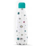 I-Drink ID0083 - Botella térmica, 500 ml, diseño ojos