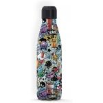 I-Drink ID0085 - Botella térmica, 500 ml, diseño grafitti