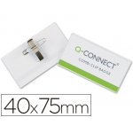 Identificador con pinza e imperdible de Q-Connect