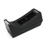 Ingraff Office - Portarrollo de sobremesa, para cintas de 33 mt, negro