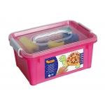 Jovi 566 - Pintura de dedos, 6 colores surtidos, set esponja + plantillas, bote de 125 ml
