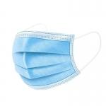 Langci - Mascarilla higiénica desechable, tres capas, color azul